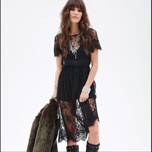 Dresses & Skirts - Lace See Through Dress